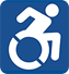 Accessibility information icon